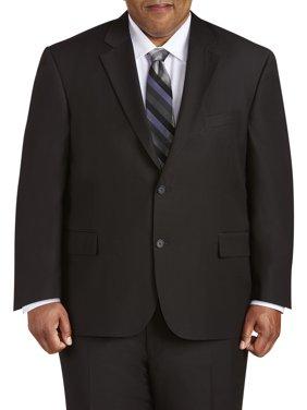 Canyon Ridge Big Men's Executive Fit Solid Black Suit Jacket, up to size 66