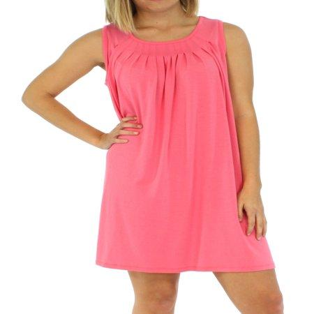 Scoop Neck Nursing Nightgown (PajamaMania Women's Sleepwear Lightweight Sleeveless)