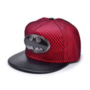 New Unisex Batman Hip-Hop Cosplay Snapback Adjustable Baseball Cap Hat Flat Hat