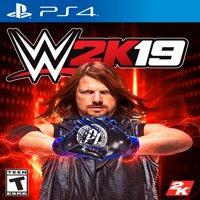 WWE 2K19, 2K, PlayStation 4, 710425570643