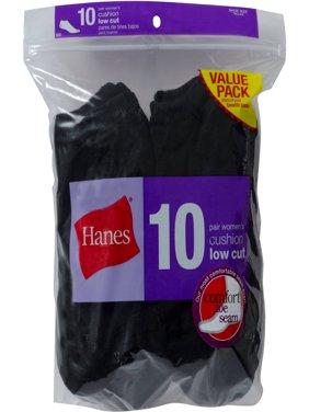 Ladies Low Cut Socks 10 Pack