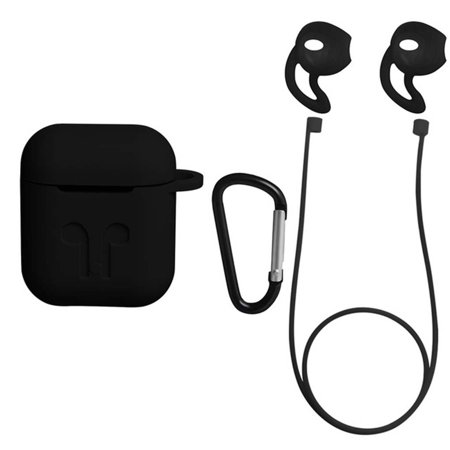 Portable Silicone Case Cover Box for AirPods Dust Proof Shockproof
