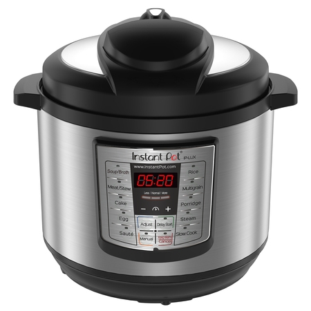 Instant Pot LUX80 8 Qt 6-in-1 Multi-Use Programmable Pressure Cooker, Slow Cooker, Rice Cooker, Saute, Steamer, and