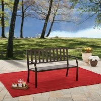 Better Homes and Gardens Farmhouse Metal Outdoor Bench
