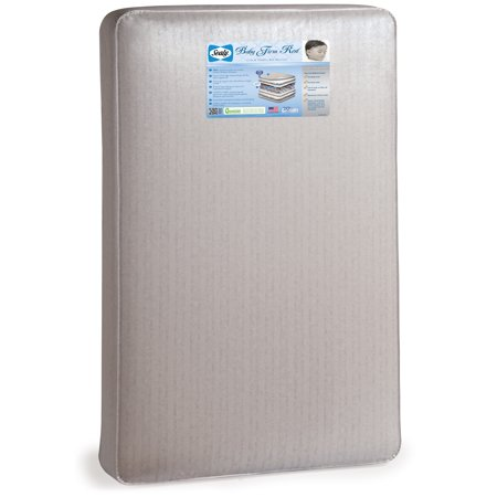 Sealy Baby and Toddler Waterproof Crib Mattress with Hypoallergenic