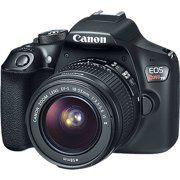 Canon Black EOS Rebel T6 EF-S IS Digital Camera with 18 Megapixels and 18-55mm Lens Included