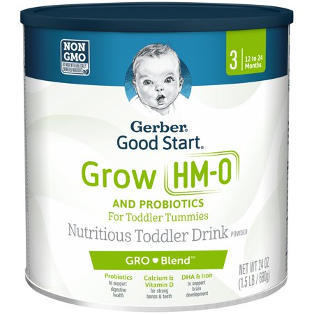 Gerber Good Start Grow Everyday Probiotics Powder Toddler Drink, Stage 3, 24 -