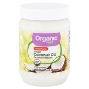 Great Value Organic Unrefined Virgin Coconut Oil, 24 fl oz