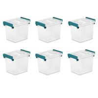 Sterilite, 2.5 Qt./2.4 L Modular Latch Box, Case of 6