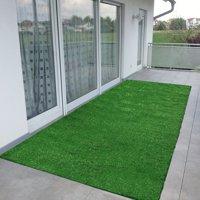 Ottomanson Evergreen Artificial Grass Indoor/Outdoor Area Rug