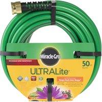 "1/2"" x 50' Miracle-Gro ULTRALite Hose Premium Kink Resistance"