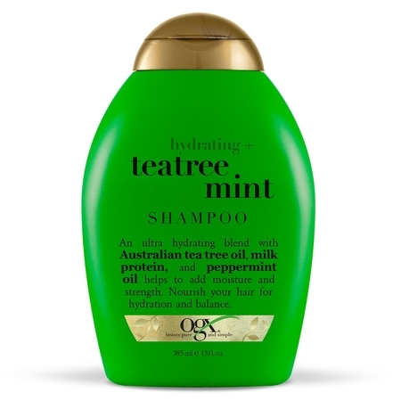 OGX® Hydrating + TeaTree Mint Shampoo, 13 Fl OZ (Tea Tree Shampoo)