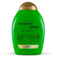 OGX® Hydrating + TeaTree Mint Shampoo, 13 Fl OZ