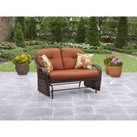 Better Homes & Gardens Azalea Ridge 2-Person Outdoor Glider, Vermillion