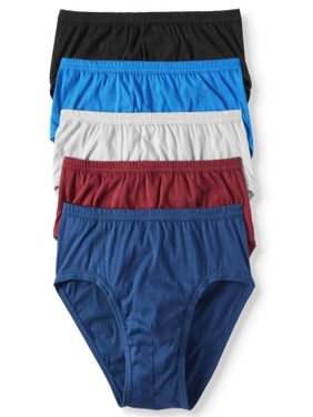 Men's 24/7 Comfort Cotton Low-Rise Brief- 5 pack
