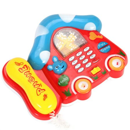 Colourful Toy - JOYFEEL Clearance 2019 Random Color Children Kids Mini Colorful Electric Music Telephone Sounds Toys Gift Best Toy Gifts for Children Kids