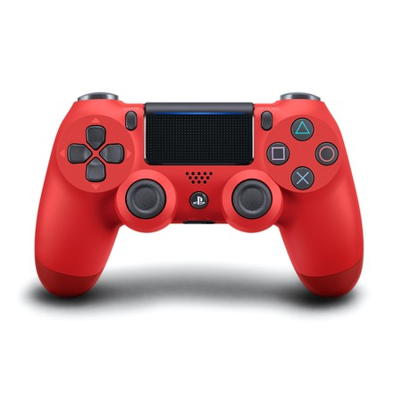 Sony PlayStation 4 DualShock 4 Controller, Magma Red, 711719504405