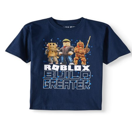 """Build Greater"" Short Sleeve Graphic Tee (Little Boys & Big Boys)"