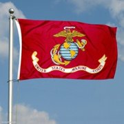 G128 - USMC US Marine Corps Flag 3x5 ft Printed United States Marine Corps  Flag 2 25001c895fb