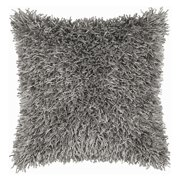 """Rizzy Home T03967 18"""" x 18"""" Pillow with Hidden Zipper and Polyester Filler"""