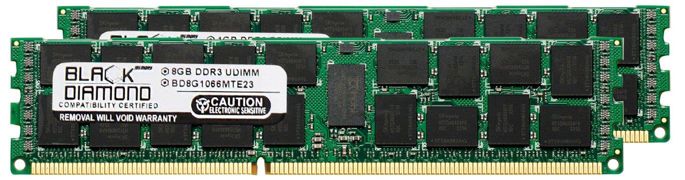 16GB 2X8GB Memory RAM for Lenovo ThinkServer TD200x 3823 DDR3 RDIMM 240pin PC3-8500 1066MHz Black Diamond Memory Module Upgrade