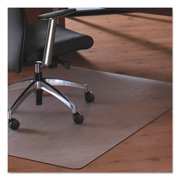 Floortex Cleartex MegaMat 46 x 53 Chair Mat for Carpet and Hard Floor, Rectangular