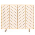 "Best Choice Products 38x31"" Single Panel Handcrafted Fireplace Screen"