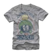 47d334269 Looney Tunes Marvin the Martian Status Mens Graphic T Shirt