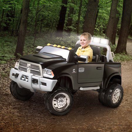Kid Trax Ram Dually 12 Volt Battery Powered Ride On Walmart Com
