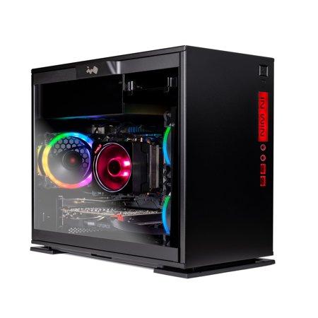SkyTech Legacy Mini - Gaming Computer PC Desktop – Ryzen 7 1700 8-Core 3.0 GHz, NVIDIA GeForce RTX 2060 6GB, 500G SSD, 16GB DDR4, AC WiFi, Windows 10 Home 64-bit - Mini Bow Desktop