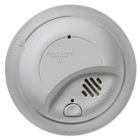 First Alert 9120B 120 Volt Hardwired Smoke Alarm With Battery Back Up