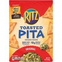 Wheat Thins Toasted Pita Chips, Original, 8.0 oz