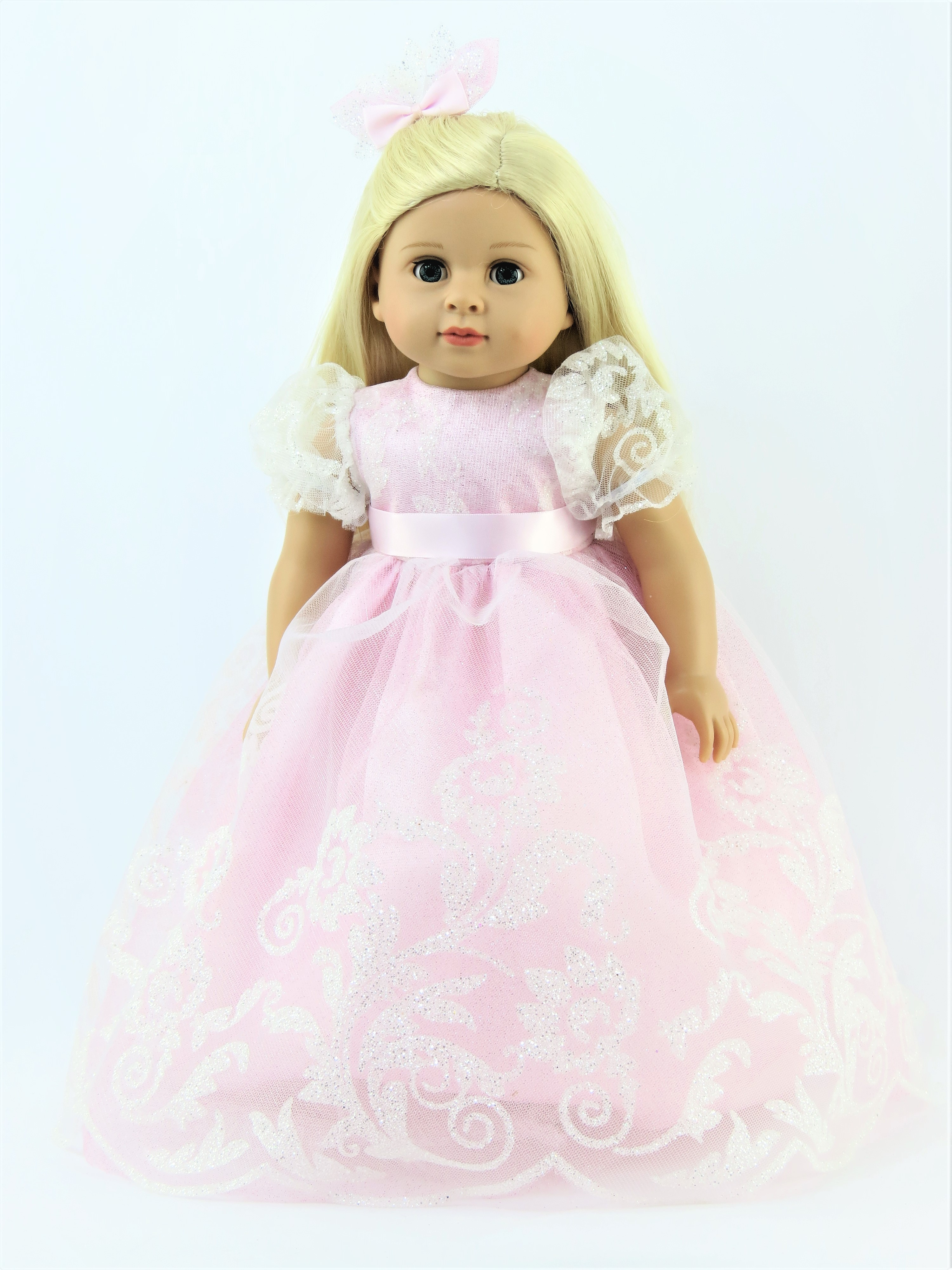 """Fairy Tale Princess Costume wNice Hat for American Girl 18/"""" Doll Clothes  US SLR"""