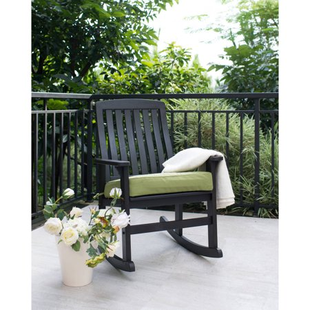 Jasper Patio Chair (Better Homes & Gardens Delahey Wood Porch Rocking Chair,)