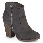 74e85011d13 Women s Wide Width Faux Suede High Heel Ankle Boots