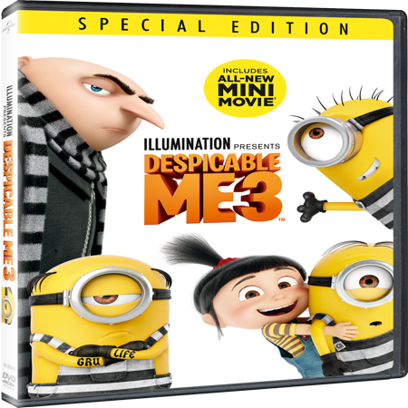 Despicable Me 3 (Special Edition) (DVD)](Edith Despicable Me)