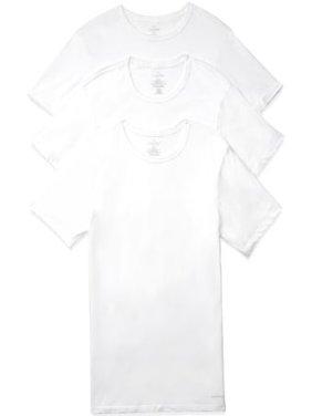 NIP Calvin Klein Cotton Slim Fit 3-Pack Crew Neck T-Shirt Black White S- XL 1176