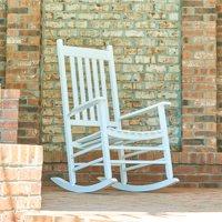 Shine Company Vermont Porch Rocker - White
