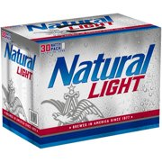 Natural Light Beer, 30 pack, 12 fl oz