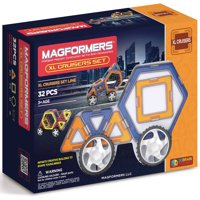 Magformers XL Cruisers 32 piece Magnetic Tiles Car Set