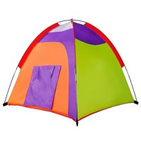 Kids Tent Colourful Curvy play tent Pop Up Tent Play Tents Indoor Outdoor Tent Great Game & Toy Gift For Children By Alvantor