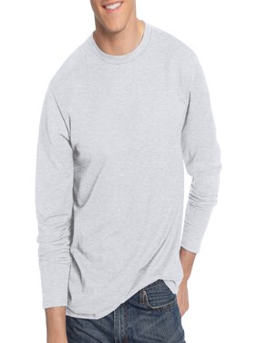 Hanes Men's Nano-T Tagless Ultra-Light Long Sleeve Tshirt