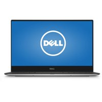 """Dell Silver 13.3"""" XPS XPS9350-4007SLV Laptop PC with Intel Core i5-6200U Processor, 8GB Memory, touch screen, 256GB Solid State Drive and Windows 10 Home"""