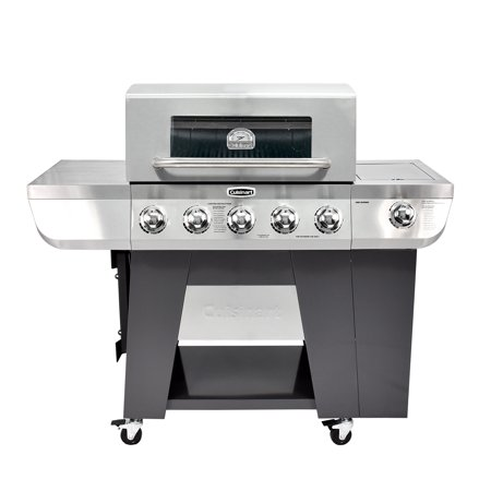 Cuisinart 3-in-1 Five-Burner Gas Grill
