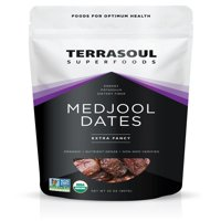 Terrasoul Superfoods Organic Medjool Dates, 2.0 Lb