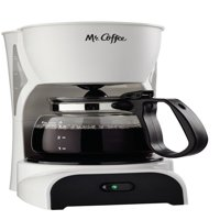 Mr. Coffee Pause 'N Serve Coffee Maker, 4 Cup, White (DR4-NP)