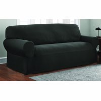 Mainstays Stretch Pixel 1 Piece Loveseat Furniture Cover Slipcover