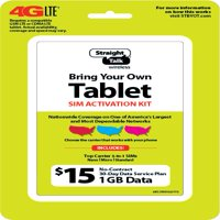 Straight Talk $15 Bring Your Own Tablet Sim Kit