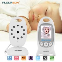 Baby Monitor, Video Baby Monitor with Camera- Wireles Video Monitor for Baby Safety- with Infrared Night Vision/Two Way Talkback/Temperature Monitor/Lullaby-play