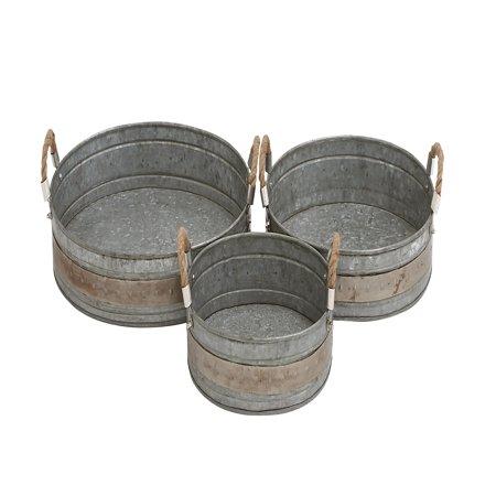 Gorgeous Styled Metal Galvanized Tray